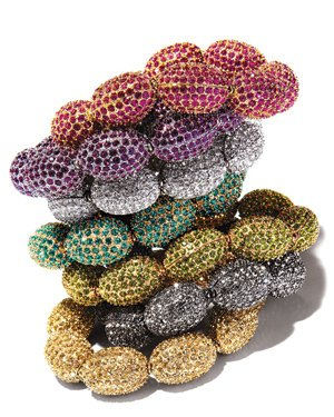 Fragments Czech glass bracelets, $175 each. Neiman Marcus, Plaza Frontenac, 314-567-5811, neimanmarcus.com