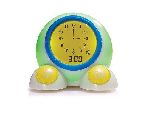 American Innovative Teach Me Time! talking alarm clock and night light