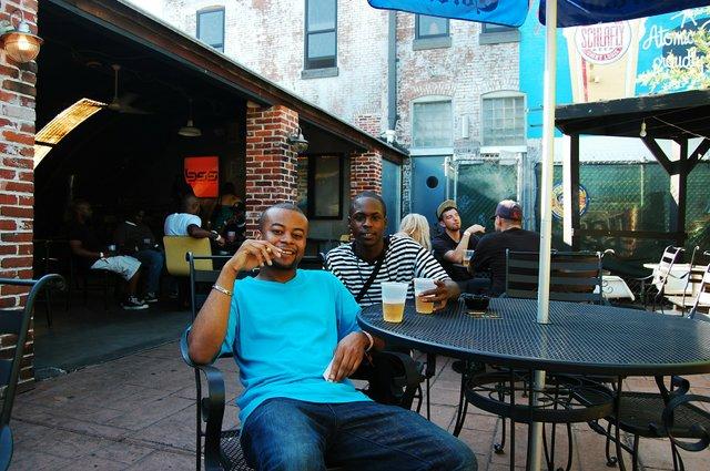 Troy Davis and Caluin Pirtle