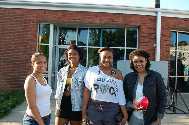 Brooke B, Alexis, Eboni, Annakya