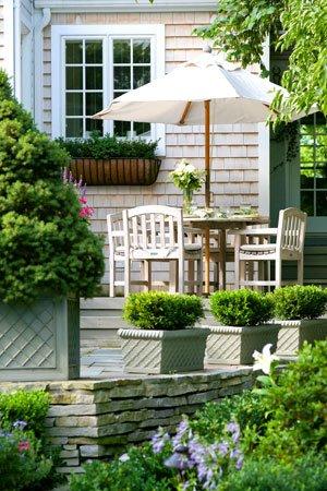 Doris Slick S Nantucket Style Garden In Warson Woods St
