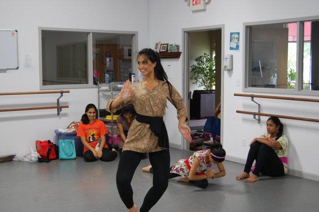 Trisha Bhat plays the Goddess of the Tree