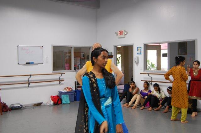 Step sister Swathi Iyer.