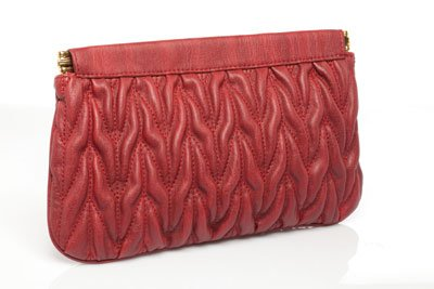 Urban Expressions Maggie quilted clutch