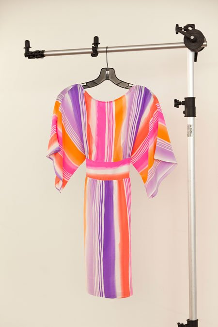 "Alice & Trixie ""Faith"" striped tie dress"
