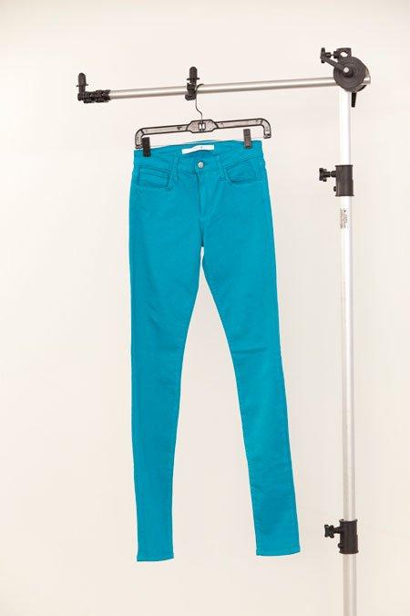 "Joe's Jeans ""The skinny"" teal blue jean"