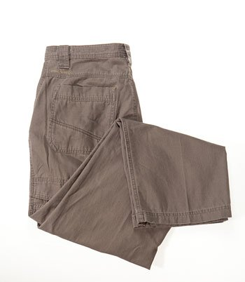 "Men's khaki Columbia  water repellant ""Ultimate Rock Pant"""