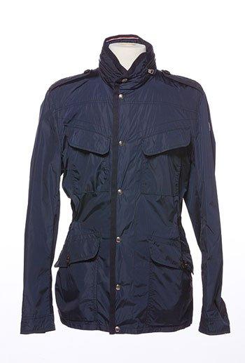 Navy Montcler men's rain resistant jacket