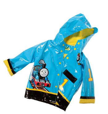 Thomas the Train boy's raincoat