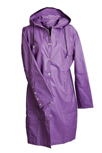 Ilse Jacobsen water-resistant rain coat and matching hat