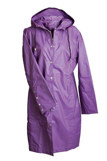 Ilse Jacobsen water-resistant rain coat and matching hat