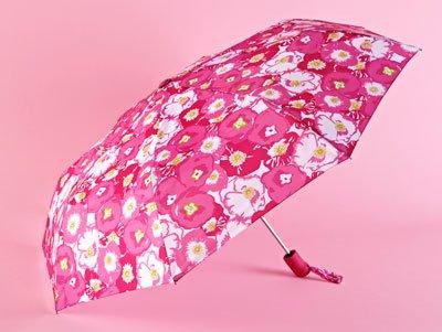 "Lily Pulitzer ""Spring Begonias"" umbrella"