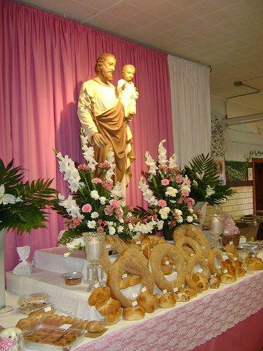 Carb Heaven The St Joseph Altar Fest At St Ambrose