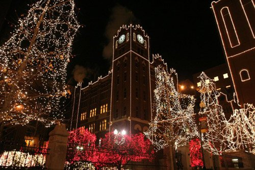 anheuser busch brewery holiday light display through january 4