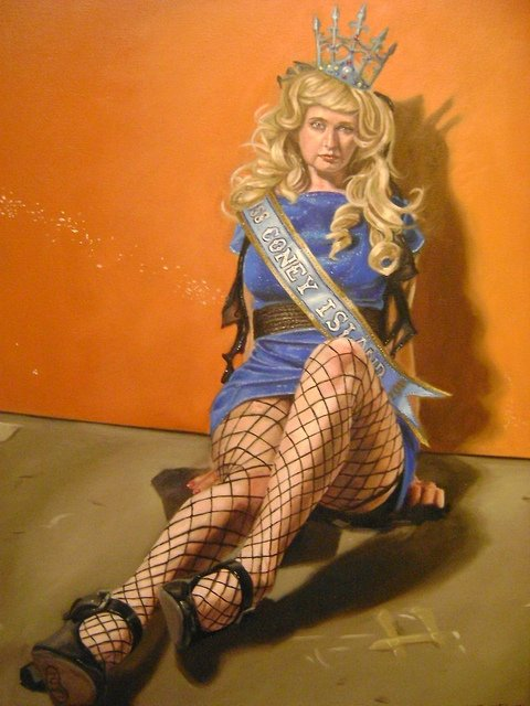 """Miss Coney Island 2011: Orange,"" Kenneth Browne"