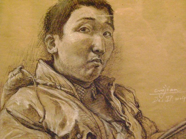 """Self-Portrait,"" Jian Cui"