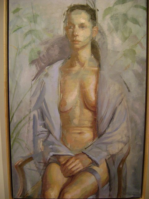 """Suzanna Seated,"" Dean Fisher"