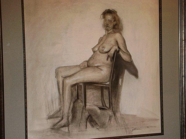 """""""Nude Study,""""  Joseph Moniz"""