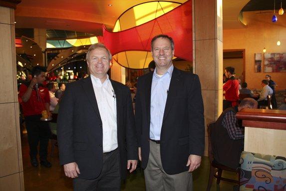 Steve Oldham & Joe Heeb, owners of Tucanos Brazilian Grill