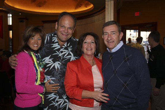 Tracy & Don Brown, with Don Brown Chevorlet, and Margie & Don Sedliack, co-chairs