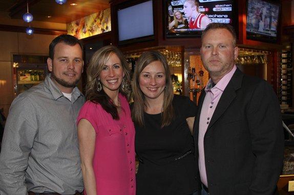 Brian & Jessica Weinreis, and Audrey & Jim Treis