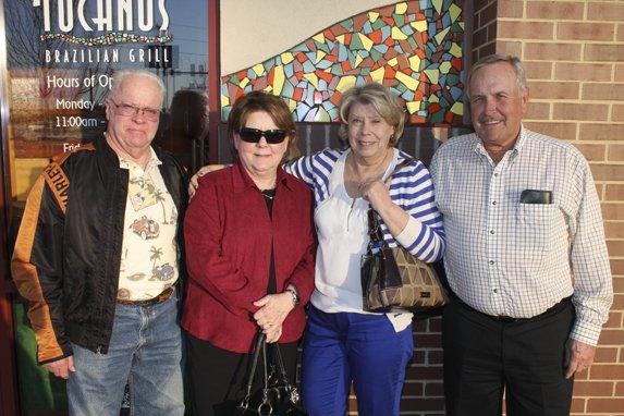 Jim & Patty Beilsmith, and Jan & Ed Fricke