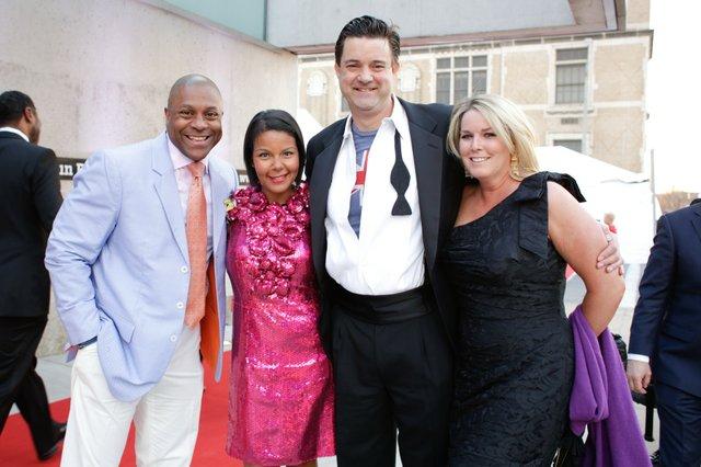 Bill & Tania Jolly and  Scott & Lindsay Bush