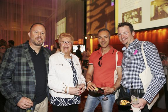 David Brown, Susan Brown, Leo Mannino, & Michael Barolak