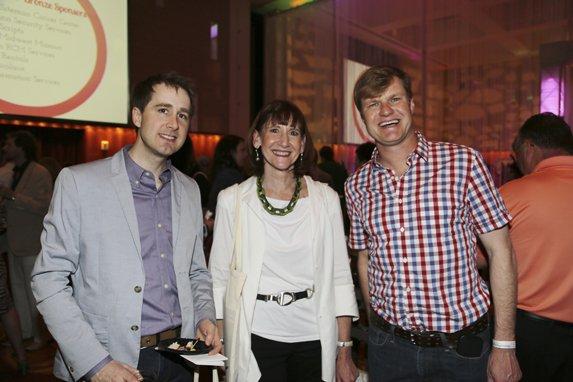 Stephen Schenkenberg, Ellen Soule, & Mike Kaiser