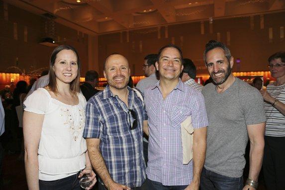 Cristy Miller, Bryan Wagner, John Schnieder, & Attilio D'Agostino