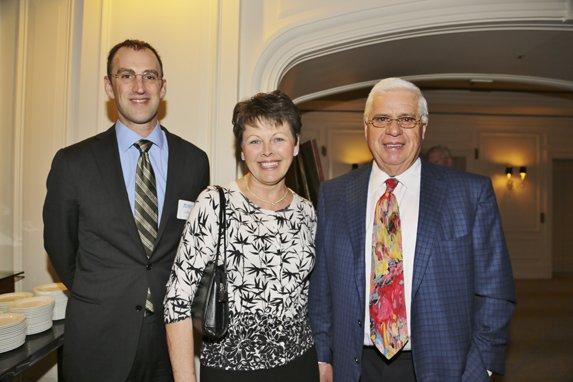 Jeffrey Brewer & Maggie and Hans Wiemann