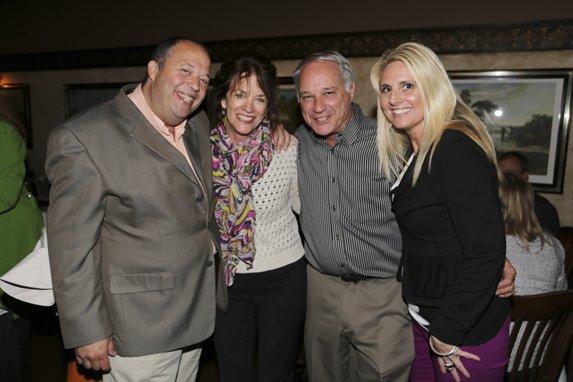 John Carney, Suzie and George Mahe, & Karen Kelly