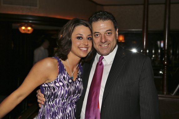 Charlie Gitto and daughter, Suzanne