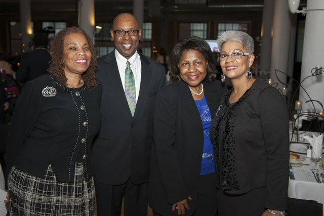 Commissioner Anne-Marie Clark, Judge Jimmie Edwards, Darlene Green, Stacy Edwards