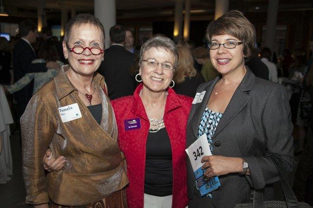 Pamela Dern, Jo Curran, Mary Claire Voss