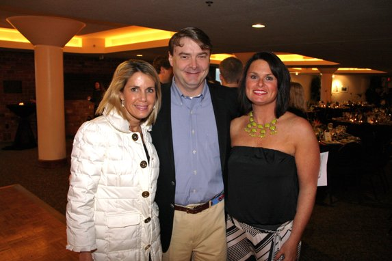 Penny Schneithhorst, Andrew and Molly Richardson