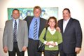 Brooks Kelly, Pat Kelly, Amy and Jeff Hercules