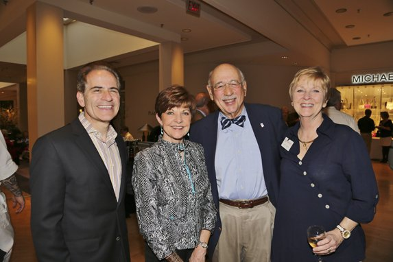 Fred Bronstein, Judy and Harvey Harris, Joan Carr
