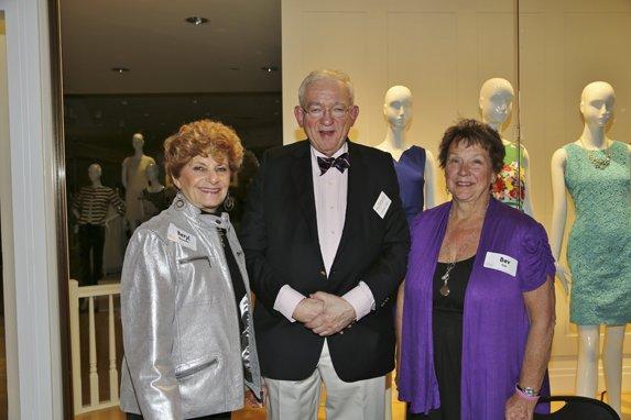Beryl Binowitz, Chuck Cook, Bev Cox