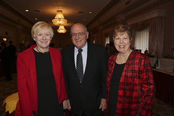 Linda and John Schink, Norine Sears