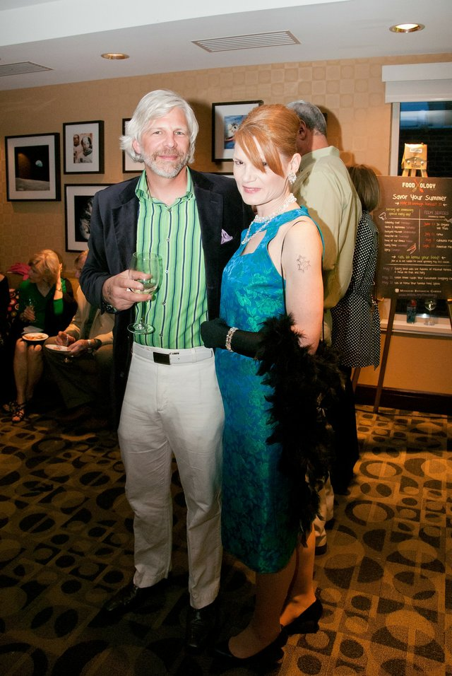 Kent Evans and Rachelle L'Ecuyer
