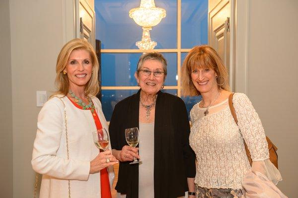 Melissa Haupt, Bev Wagner, Christine Krieger