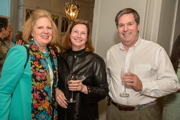 Susan Block, Pattie & Ralph Canter