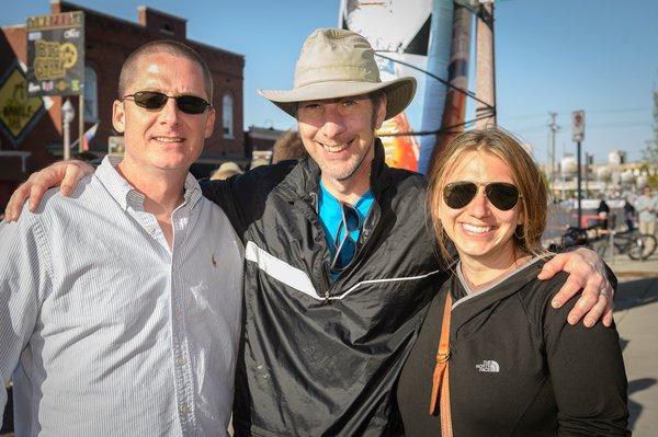 Frank O'Brien, Greg Nauser, Julie Gundlach