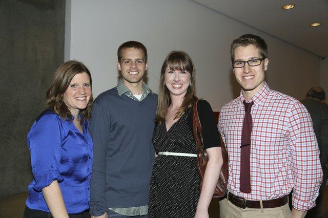 Nicki Wilhelm, T.C. Cowles, Katie Hasler, Jeremy Peissig
