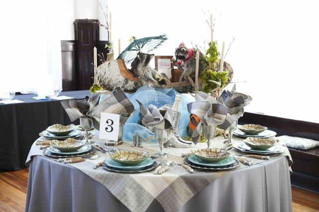 Tabletop Design by Sallie Home and Sallie Kramer