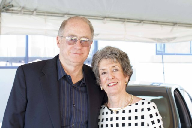 Rob Lauer and Sharon Lauer