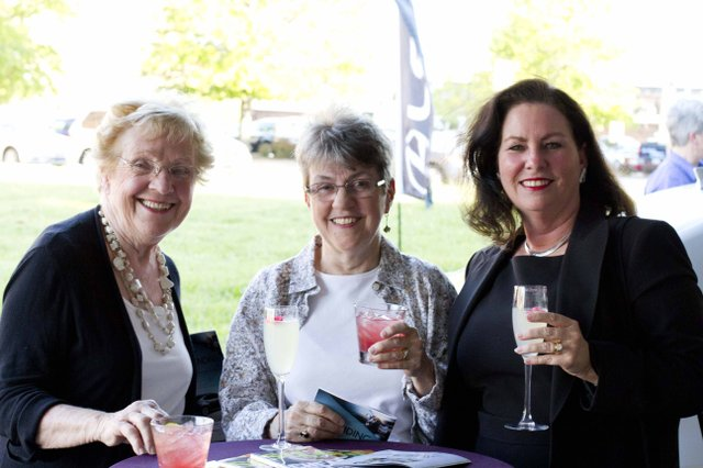 Pat Kiesel, Joan Koos, and Mary Jeragnami