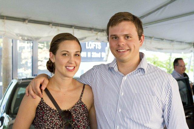 Katie Schweiss and Jesse Evans