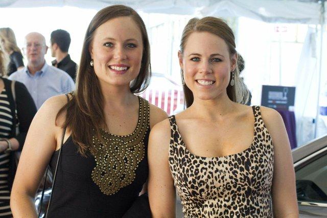 Lauren Slete and Kelsey Slete